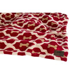 Tall Tails Red Bone Large Pet Fleece Blanket