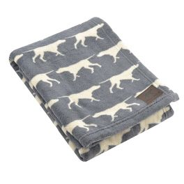 Tall Tails Large Charcoal Pet Fleece Blanket