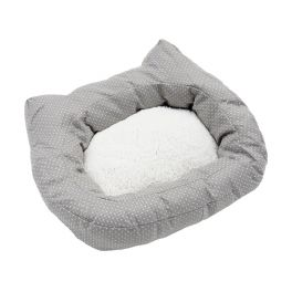 Rosewood 40 Winks Dotty Grey Cat Bed