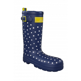 Joules Spotty Rubber Welly Dog Toy