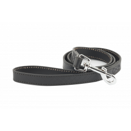 Ancol Heritage Leather Dog Lead Black