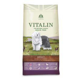 Vitalin Grain Free Duck & Potato Adult Dog Food 2kg
