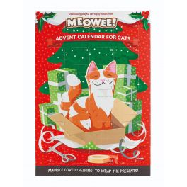 Meowee! Christmas Cat-Nippy Advent Calendar for Cats