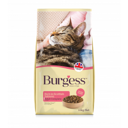 Burgess Adult Cat Food Rich in Scottish Salmon 1.5kg