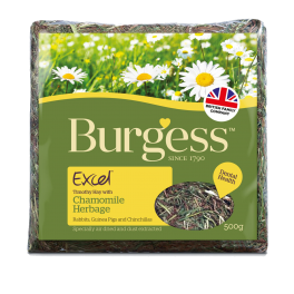 Burgess Excel Herbage Chamomile Small Animal Forage 500g