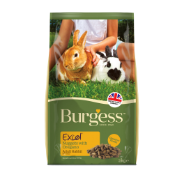 Burgess Excel Adult Rabbit Food with Oregano 2kg