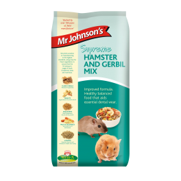 Mr Johnsons Supreme Hamster & Gerbil Food