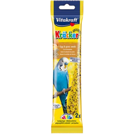 Vitakraft Budgie Kracker Egg and Grass Seed Bird Treats