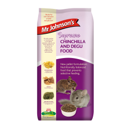 Mr Johnsons Supreme Chinchilla / Degu Food 900g