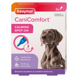 Beaphar CaniComfort Calming Spot-On for Dogs x3