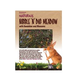 Rosewood Naturals Nibble 'N' Dig Meadow Small Animal Treat