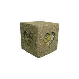Rosewood Naturals Large I Love Hay Cube Small Animal Treat