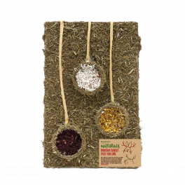 Rosewood Naturals Christmas Baubles Treat Challenge Small Animal Treat