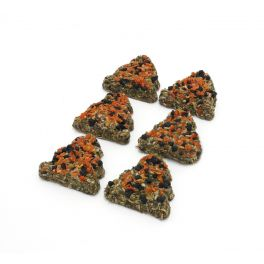 Rosewood Christmas Carrot & Elderberry Trees Small Animal Treats