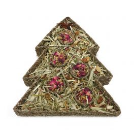 Rosewood Christmas Festive Floral Tree Challenge Small Animal Treat
