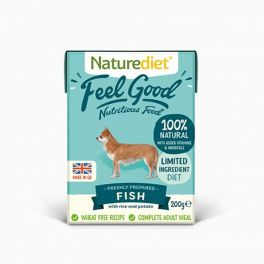 Naturediet Feel Good Fish Adult Wet Dog Food 200g