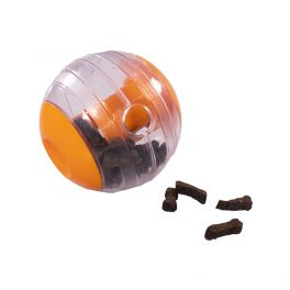 Rosewood Giggling Interactive Treat Ball Dog Toy