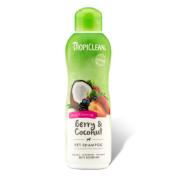 Tropiclean Berry and Coconut Pet Shampoo 355ml
