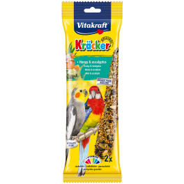 Vitakraft Cockatiel Kracker Honey & Eucalyptus Bird Treats