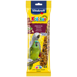 Vitakraft Parrot Kracker Dates & Nuts Bird Treats