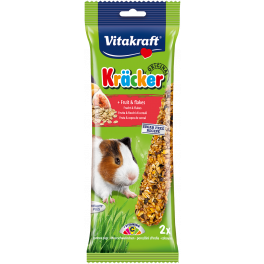 Vitakraft Guinea Pig Treat Kracker Sticks Fruit & Flakes 112g