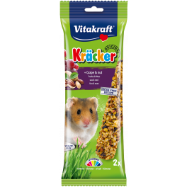 Vitakraft Kracker Hamster Treat with Grape & Nut