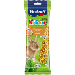 Vitakraft Rabbit Treat Kracker Sticks with Popcorn & Honey 100g