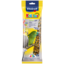 Vitakraft Cockatiel & Parrot Kracker Feather Care Bird Treats