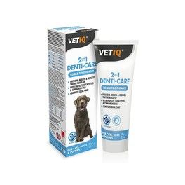 VetIQ 2in1 Denti-Care Edible Toothpaste for Dogs and Puppies 70g
