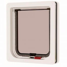 Cat Mate Lockable Cat Flap White with Liner