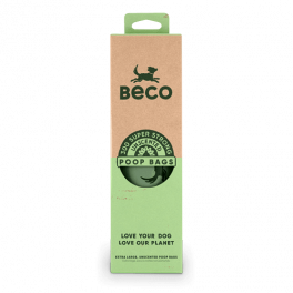 Beco Degradable Unscented Dog Poop Bags x300