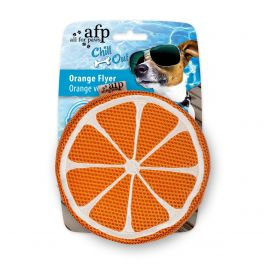 All For Paws Chill Out Orange Flyer Dog Toy