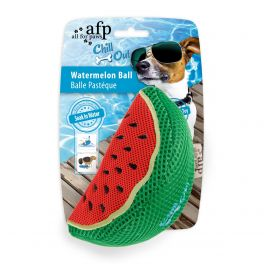 All For Paws Chill Out Watermelon Ball Dog Toy