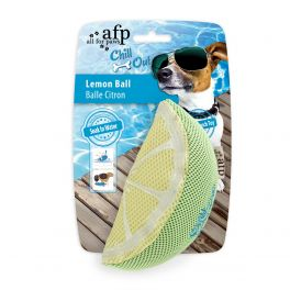 All For Paws Chill Out Lemon Ball Dog Toy