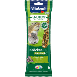 Vitakraft Emotion Kracker Small Rodent Treats 75g