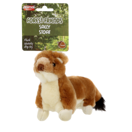 Animal Instincts Forest Friends Sally Stoat Dog Toy