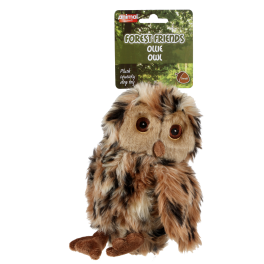 Animal Instincts Forest Friends Ollie Owl Dog Toy