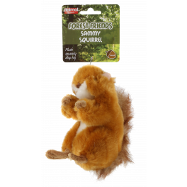 Animal Instincts Forest Friends Sammy Squirrel Dog Toy