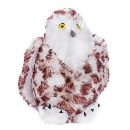 Animal Instincts Snow Mates Suri Snowy Owl Dog Toy