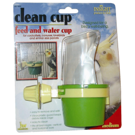 JW Bird Feed & Water Cup (2 Sizes)