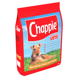 Chappie Complete Adult Dry Dog Food with Chicken 15kg