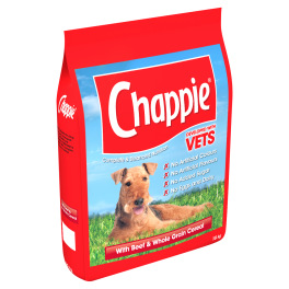 Chappie Complete Adult Dry Dog Food with Beef 15kg