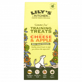 Lily's Kitchen Organic Dog Training Treats with Cheese and Apple 100g