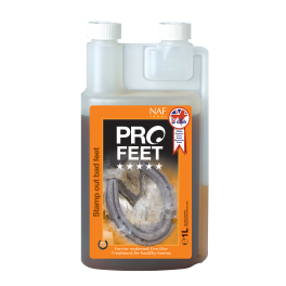NAF 5 Star Pro Feet Liquid Horse Supplement