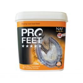 NAF 5 Star Pro Feet Powder Horse Supplement