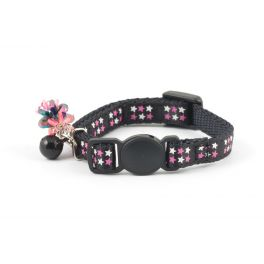 Ancol Black Stars Safety Kitten Collar