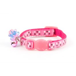 Ancol Pink Stars Safety Kitten Collar