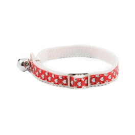 Ancol Reflective Hearts Safety Cat Collar (2 Colours Available)