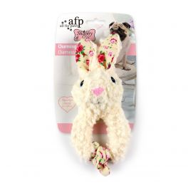 All for Paws Shabby Chic Charming Rabbit Dog Toy