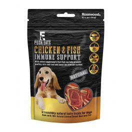 Rosewood Posh Eats Chicken & Fish Immune Support Dog Treats 80g